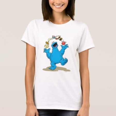 Vintage Cookie Monster Juggling T-Shirt - tap to personalize and get yours