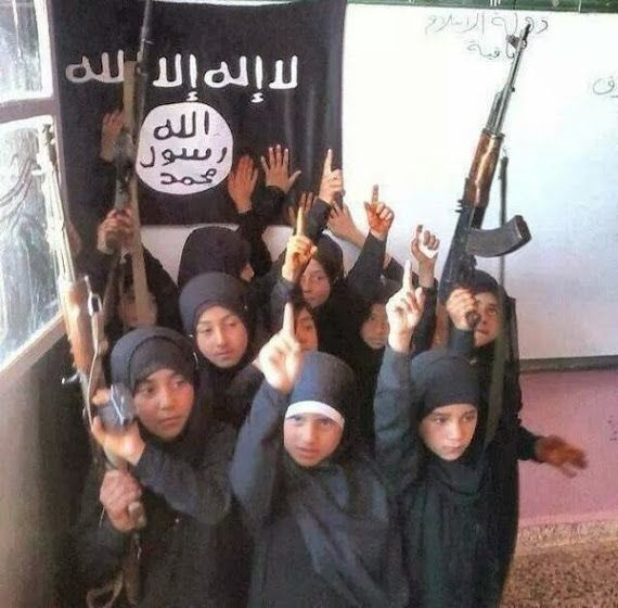 Islamic State Using Dolls to Train Children How to Behead Infidels - Teaching them the doctrines of the 'Religion of Peace' 8/23/14