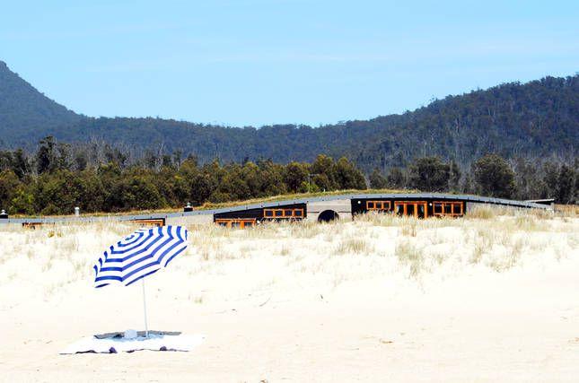 Four Mile Creek Beach at your doorstep   Malibu on the Beach - oceanfront retreat in Four Mile Creek, Tasmania