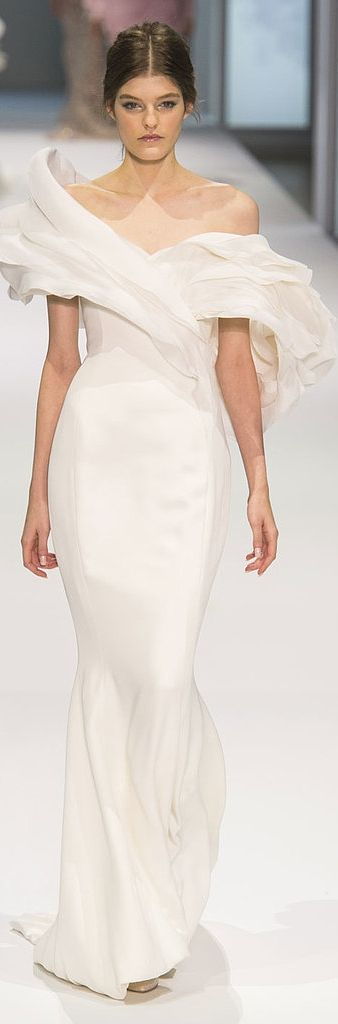 Wedding dress inspiration: Ralph & Russo Haute Couture Spring 2015