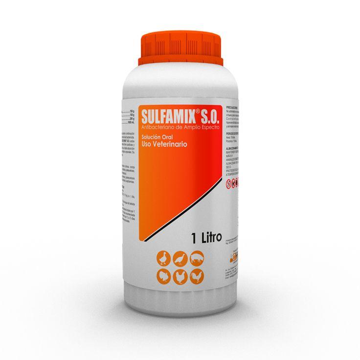 SULFAMIX® S.O. es una potente combinación de quimioterápicos de gran actividad bactericida. La acción sinérgica del SULFAMIX® S.O. actúa directamente contra bacterias Gram positivas y Gram negativas, asociado a su rápida absorción y distribución en todos los tejidos corporales.
