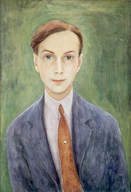Self-Portrait by Nils Dardel,(Swedish 1888-1943)