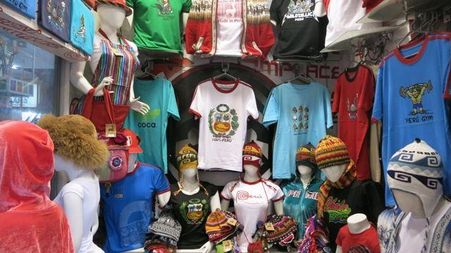 Gamarra: Lima's garment district