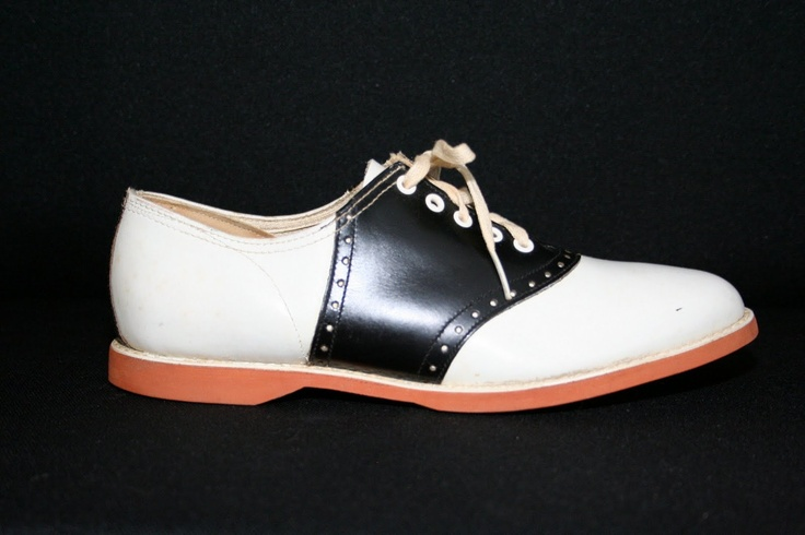 ...saddle shoes in grade school