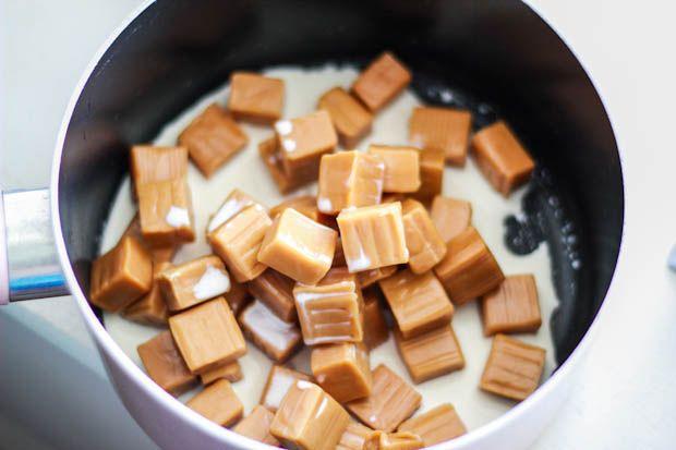 Caramel Dipped Pretzels