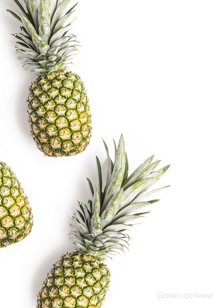 Shay Cochrane / In the shop: Summer Fruit Styled Stock images for food bloggers and creative businesses. Pineapples, Pineapple