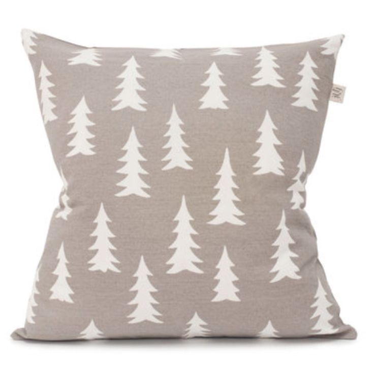 Fine Little Day - Gran cushion in warm grey
