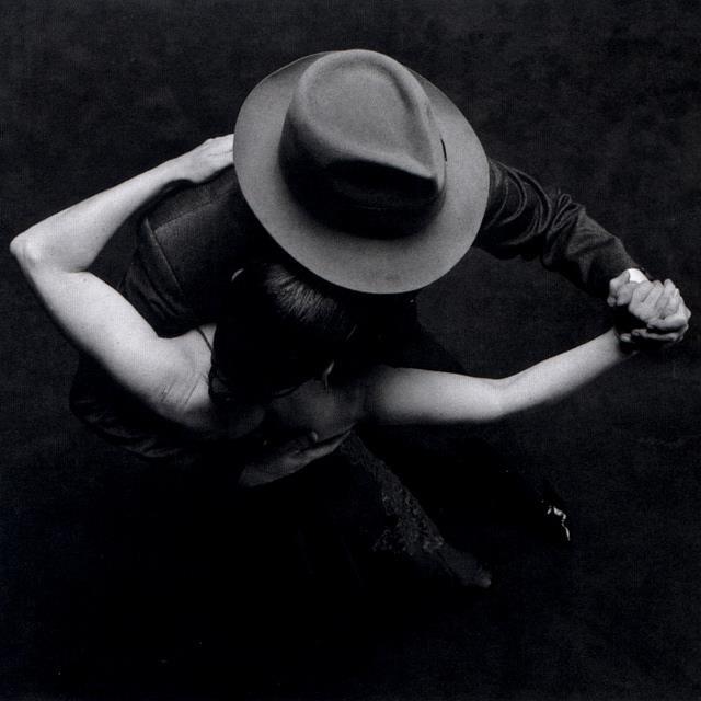 Carlos & Linda dancing tango.