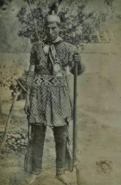 Choctaw man in Louisiana - 1908