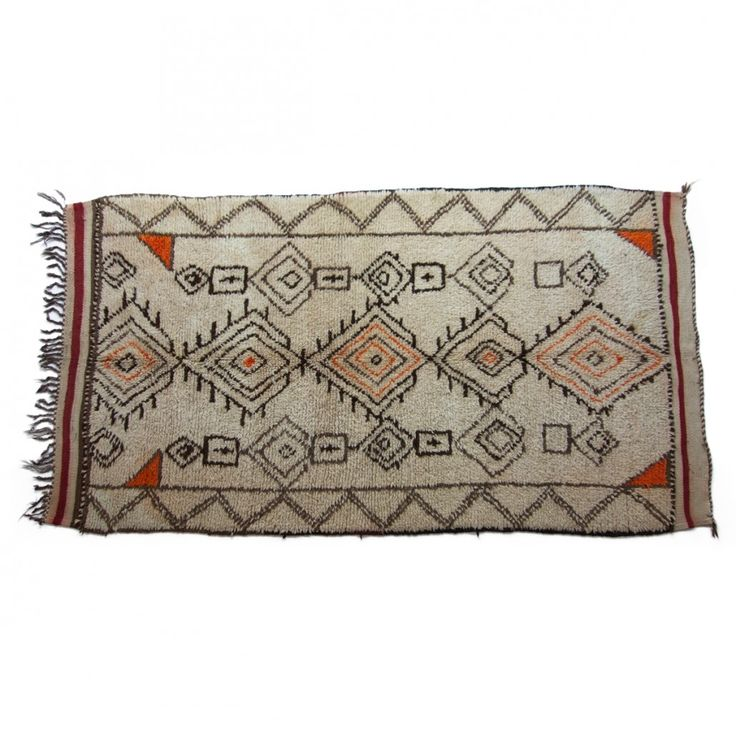 Beni Ouarain rug, no.120 { 270 x 150 cm } 13.000DKK