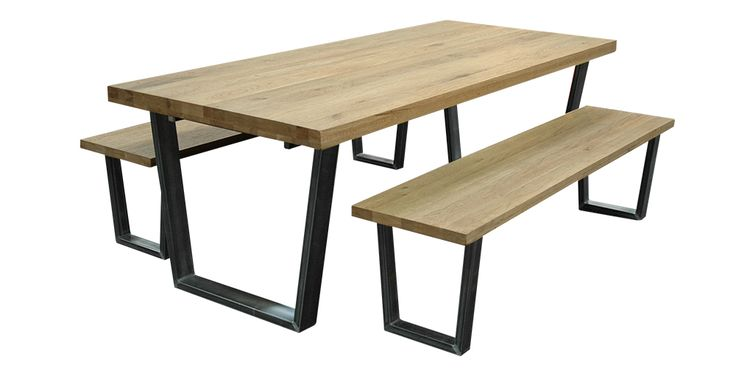 Calia Dining Table & Bench Seats Dimensions
