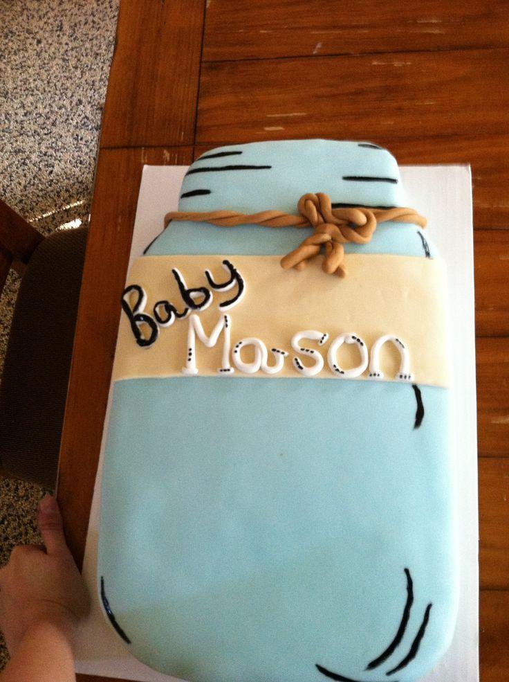 Cake Jar Designs : 17 Best images about Cake Design for Mason Jar Baby Shower ...
