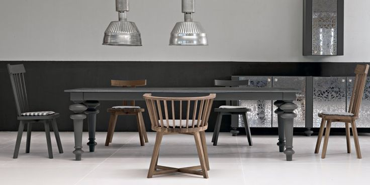 gray: gray dining table