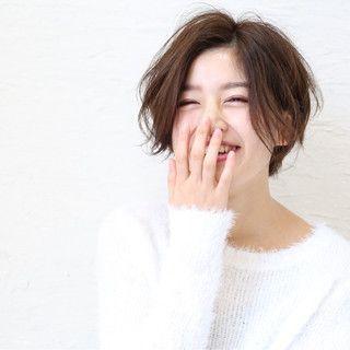 TOMOMI さんのヘアカタログ | アッシュ,ショート,メンズショート,小顔ショート,耳かけショート | 2016.02.07 21.23 - HAIR