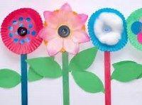 Spring Flower Crafts for Kids