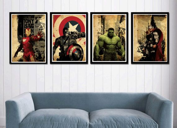Hey, I found this really awesome Etsy listing at http://www.etsy.com/listing/129741859/captain-america-hulk-iron-man-and-thor