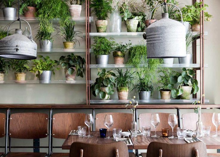 New Green Restaurant Väkst in Copenhagen
