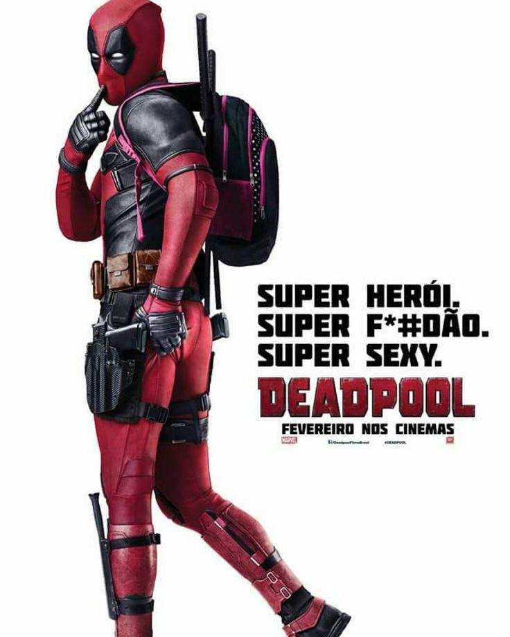 Ele chegou hoje e já temos um encontro marcado no sabado com Deadpool no Boulevard Shopping. <3 <3  #Marvel #Cinema #Deadpool  #DemotouMaisChegou