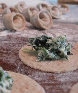 Spinach Whole Wheat Tortellini