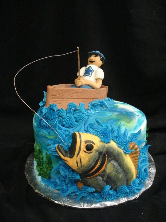 135 best images about fish fry theme reunion on pinterest for Fish cake design