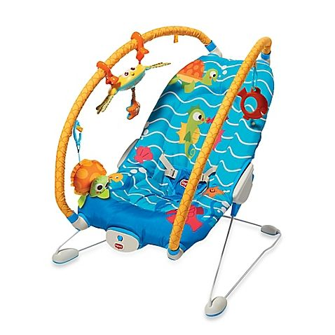 Tiny Love™ Gymini® Under the Sea Bouncer in Blue/Yellow