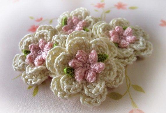 Pure cotton Applique--( 4 pcs ) PW-W375