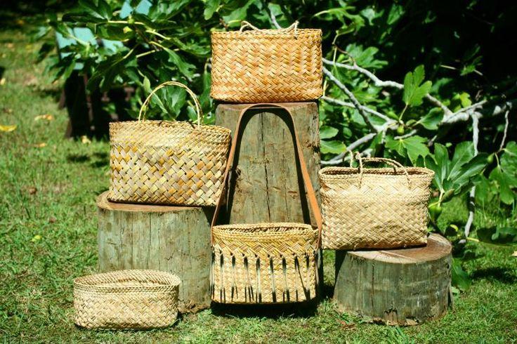 Basket Weaving New Zealand : Maori weaving folk art