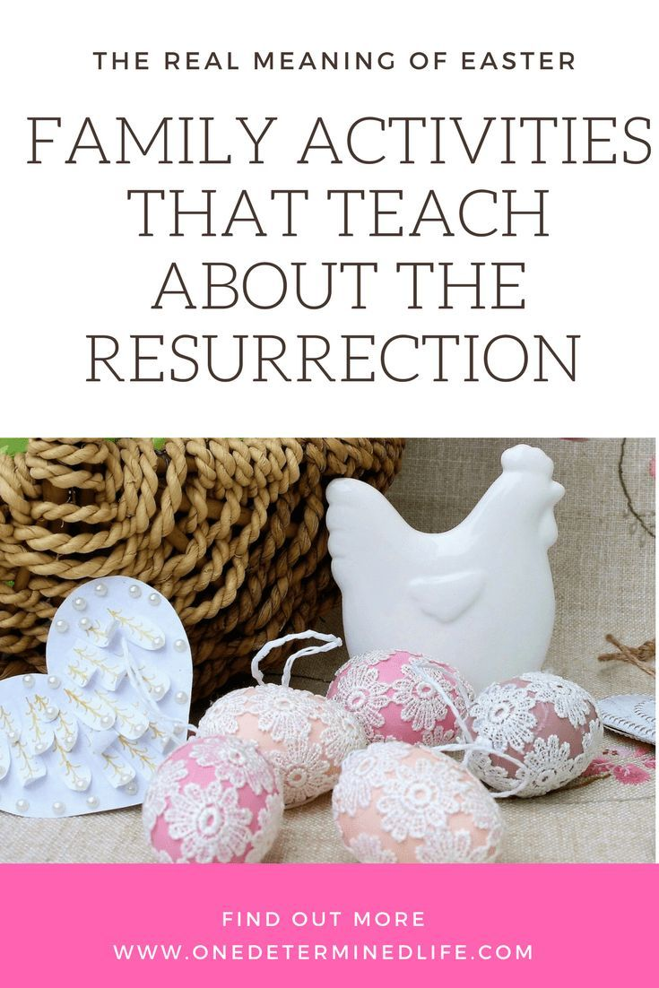Family Activities that teach kids about the resurrection, #easter, #easterideas, #easteractivities, #easterchristian