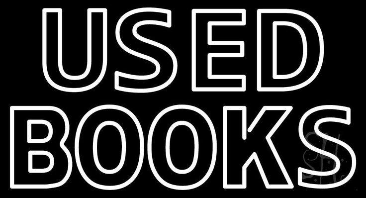 Double Stroke Used Books Neon Sign 20 Tall x 37 Wide x 3 Deep, is 100% Handcrafted with Real Glass Tube Neon Sign. !!! Made in USA !!!  Colors on the sign are White. Double Stroke Used Books Neon Sign is high impact, eye catching, real glass tube neon sign. This characteristic glow can attract customers like nothing else, virtually burning your identity into the minds of potential and future customers.