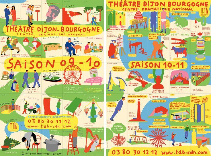 Paul-Cox-affiches-theatre-dijon-bourgogne-saison-2009-2010