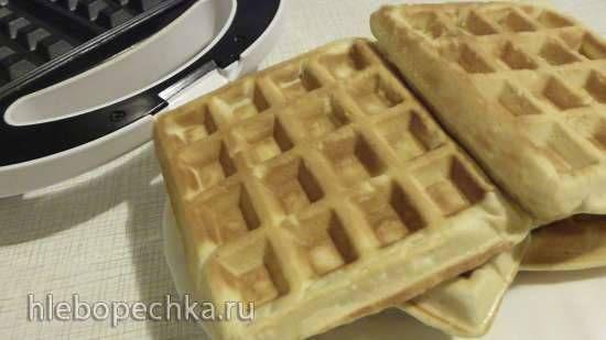Вафли по мотивам домашних коржиков из венгерской кухни