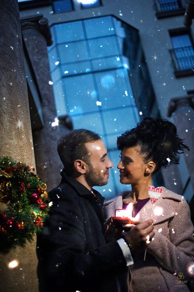 Este cunoscut faptul că în preajma sărbătorilor de iarnă au loc cele mai multe cereri în căsătorie. Dacă urmează să faci acest pas, alege ceva unic pentru acest moment.  #love #Sabion