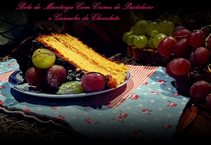 A receita já se encontra disponível no blog.  Utilizem este link para a visualizar: http://cozinharomatica.blogspot.pt/2014/10/bolo-de-manteiga-com-creme-de.html