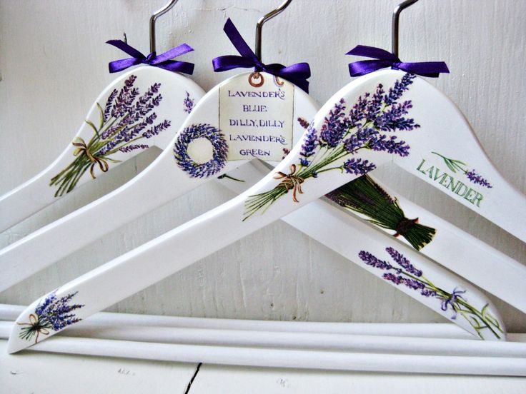 <3 What a Beautiful Gift This Would Be~ Hand Painted Hangers~ Kimberly Stanley