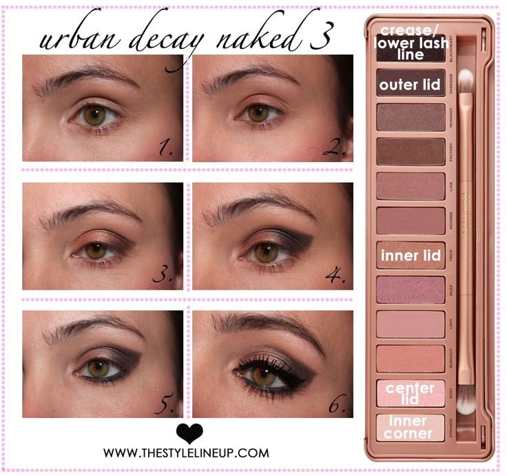 Urban Decay Naked 3 Smokey Eye! — The Style Lineup