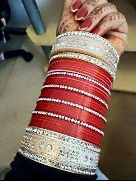 Bridal Chura. Whatsapp For Purchase : +91 9416307694