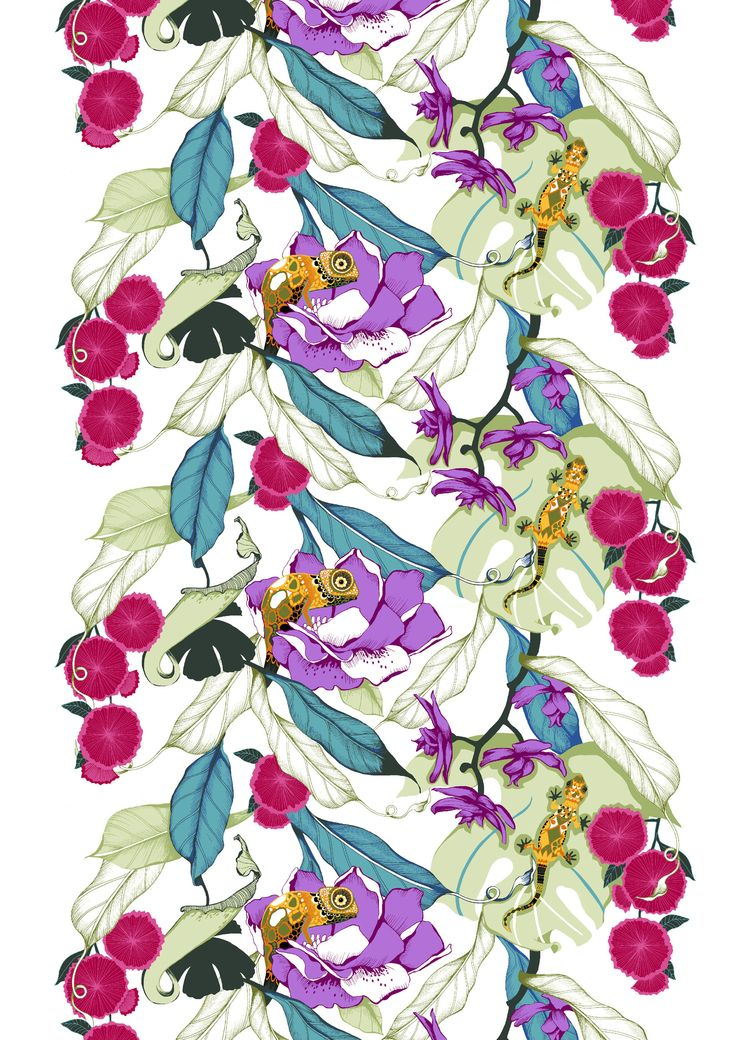 Kameleontti, multi by Saara Kurkela