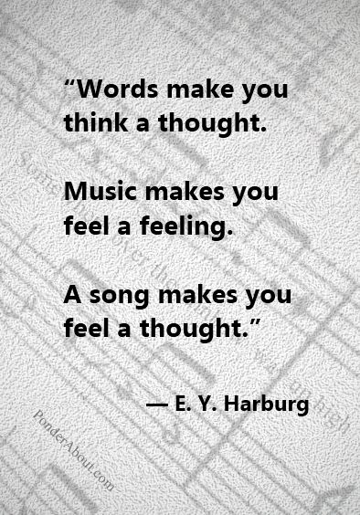I completely agree. This describes why I like vocal music more than strictly instrumental.