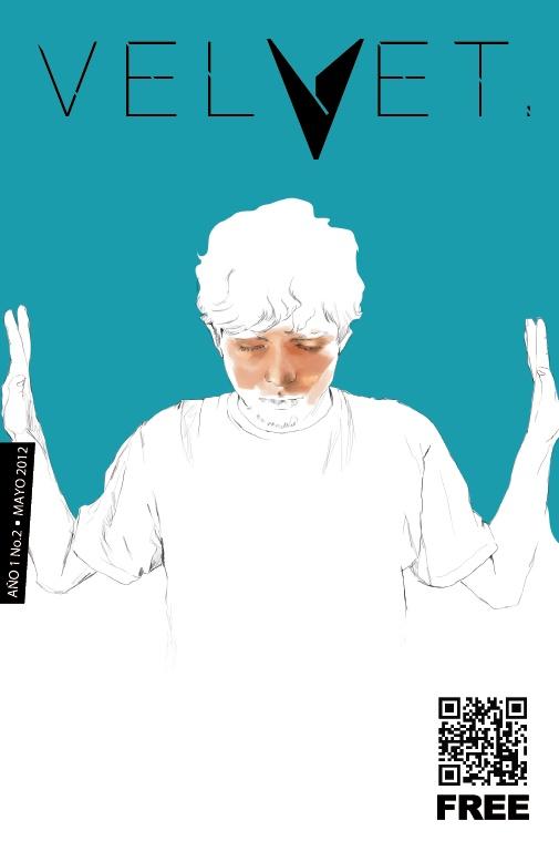 Portada Revista Velvet Año1 No. 2 por Carolina Rodriguez Fuenmayor