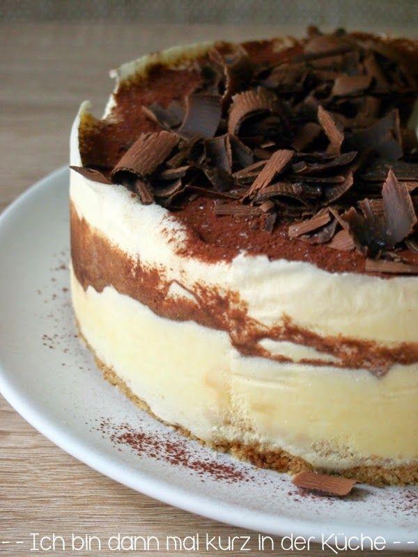 Die LISA Küchenflüsterin über die süßen Seiten des Lebens: Tiramisu Eistorte - Ich bin dann mal kurz in der Küche