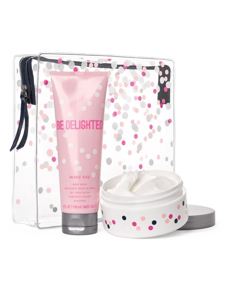 Be Delighted™ Body Wash and Body Mousse Set (includes festive gift bag) Limited Edition | Mary Kay