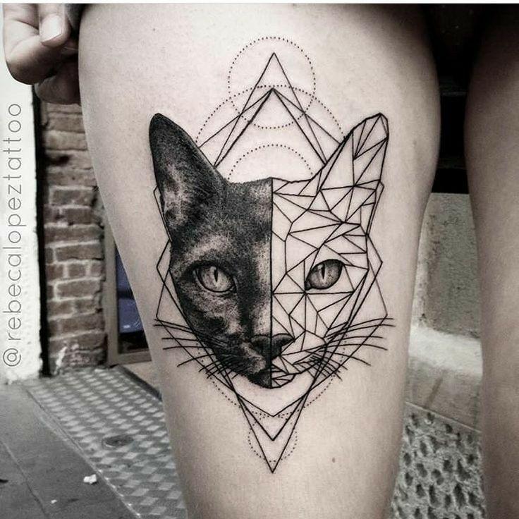 Pin De Kelvin Garcia Em Tattoos Inspirations Tatuagens De Gatos Egipcios Boas Ideias Para Tatuagem Tatuagens Geometricas