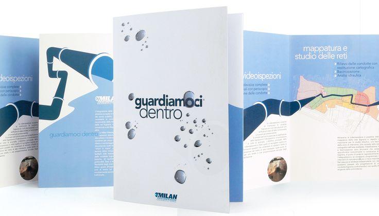 Milan - Dépliant #design #brochure