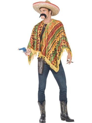 Colourful poncho, Ole!