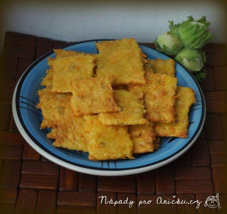 Mrkvové krekry • se sýrem