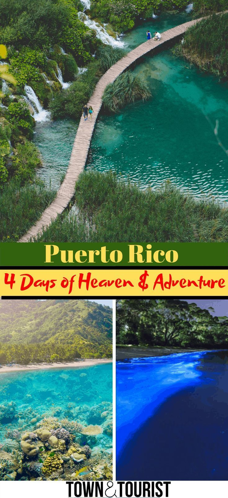 Puerto Rico Vacation Guide 4 Day Itinerary San Juan Things To Do Puerto Rico Culture Beaches Puert Puerto Rico Vacation Vacation Guide Puerto Rico Trip