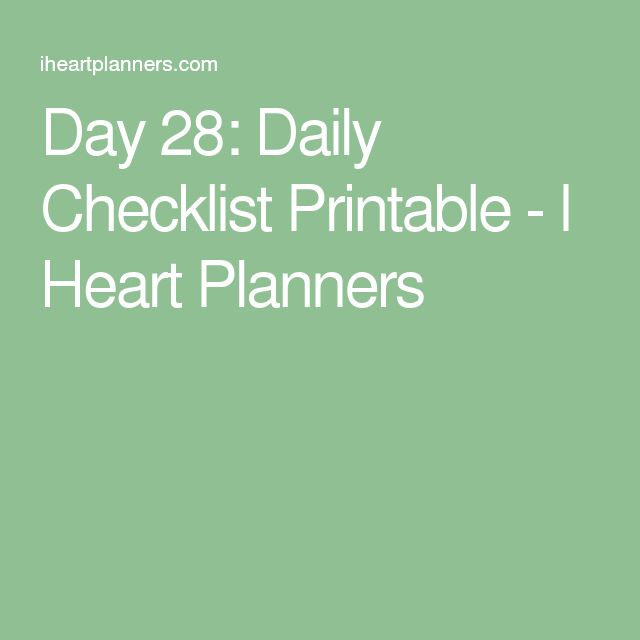 Best 25+ Daily checklist ideas on Pinterest Daily cleaning - checklists boosting efficiency reducing mistakes
