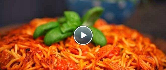 Wonen doe je thuis.nl: Spaghetti taart