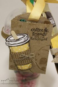 Confessions of a Stamping Addict Lorri Heiling Starbucks Gift