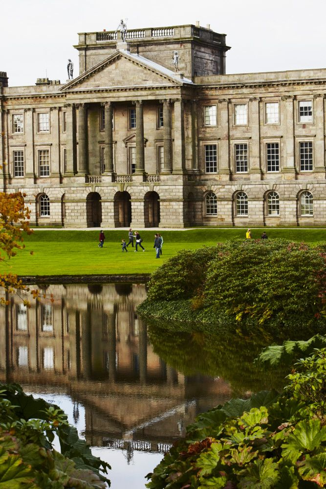 "Lyme Park  aka ""Pemberley"" ~ from Pride and Prejudice c.1995, London, England"